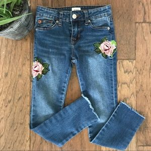 Hudson Girls Embroidered Jeans